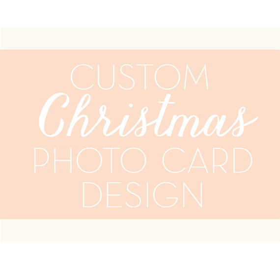 Custom Christmas Photo Card Design