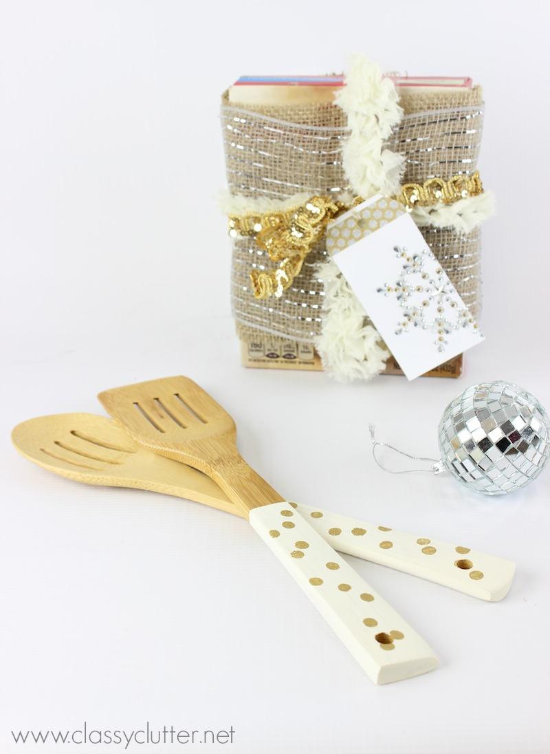 DIY Serving Utensils and Baker's Gift Idea - Classy Clutter