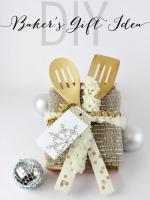 DIY Serving Utensils and Baker's Gift Idea - www.classyclutter.net