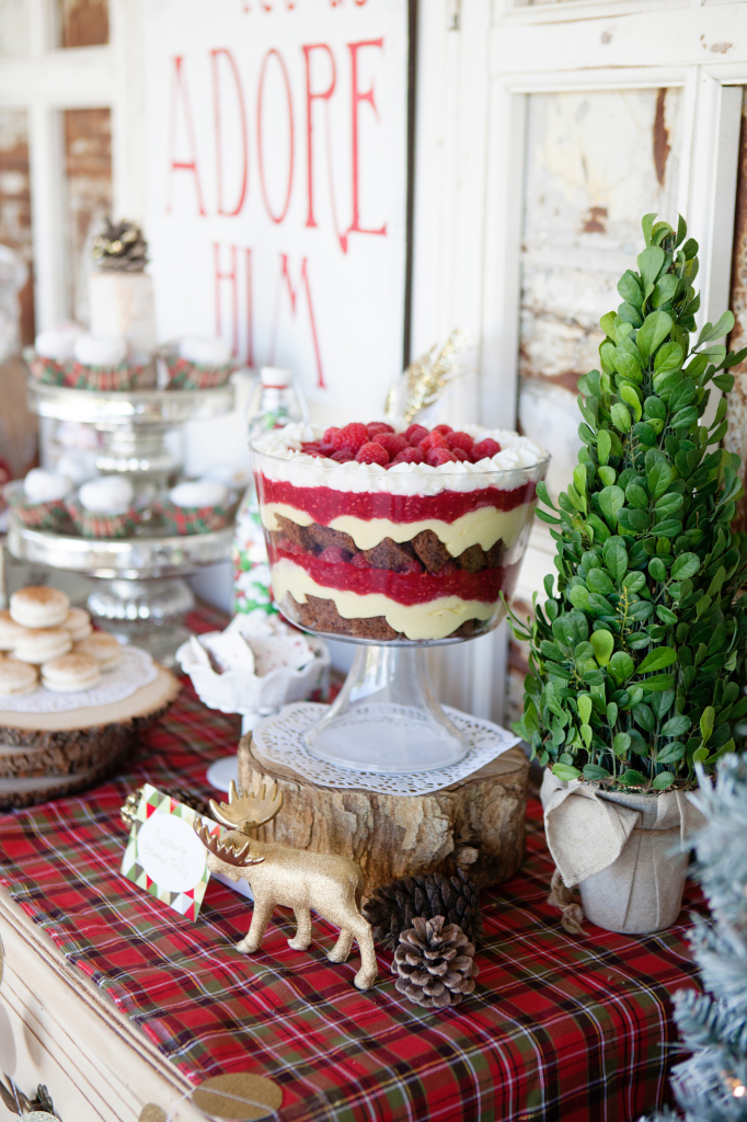 Merry & Bright Holiday Party - Dessert Bar