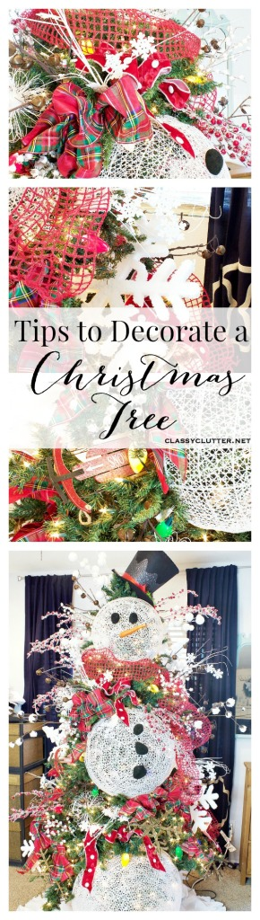 Tips for Decorating a Snowman Christmas Tree
