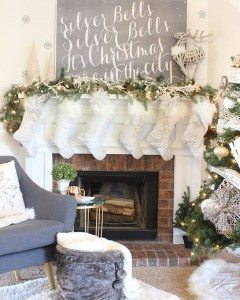 Im so excited to finally share my Christmas Mantel Treehellip