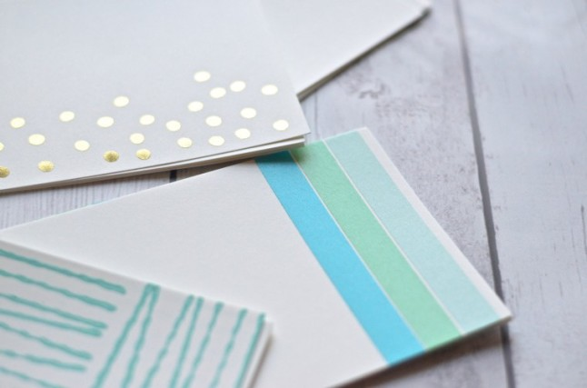 DIY Stationery Ideas - Classy Clutter