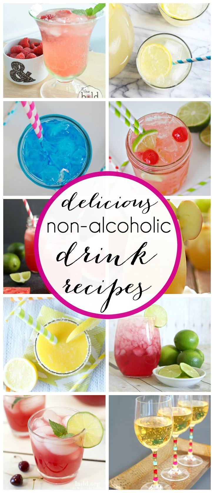 Non alcoholic drink recipes for Fun alcoholic drink recipes