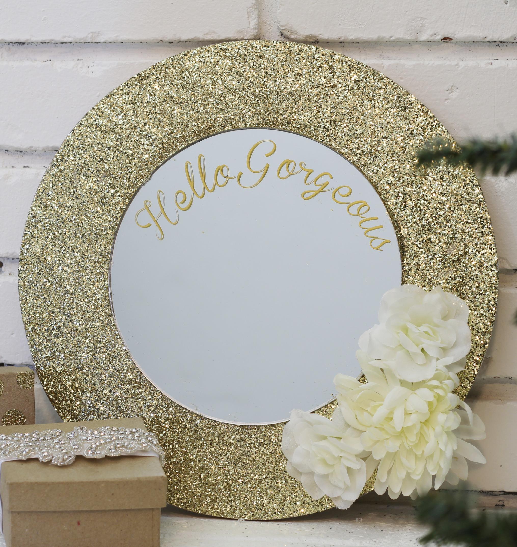 Glittered Mirror Gift 2