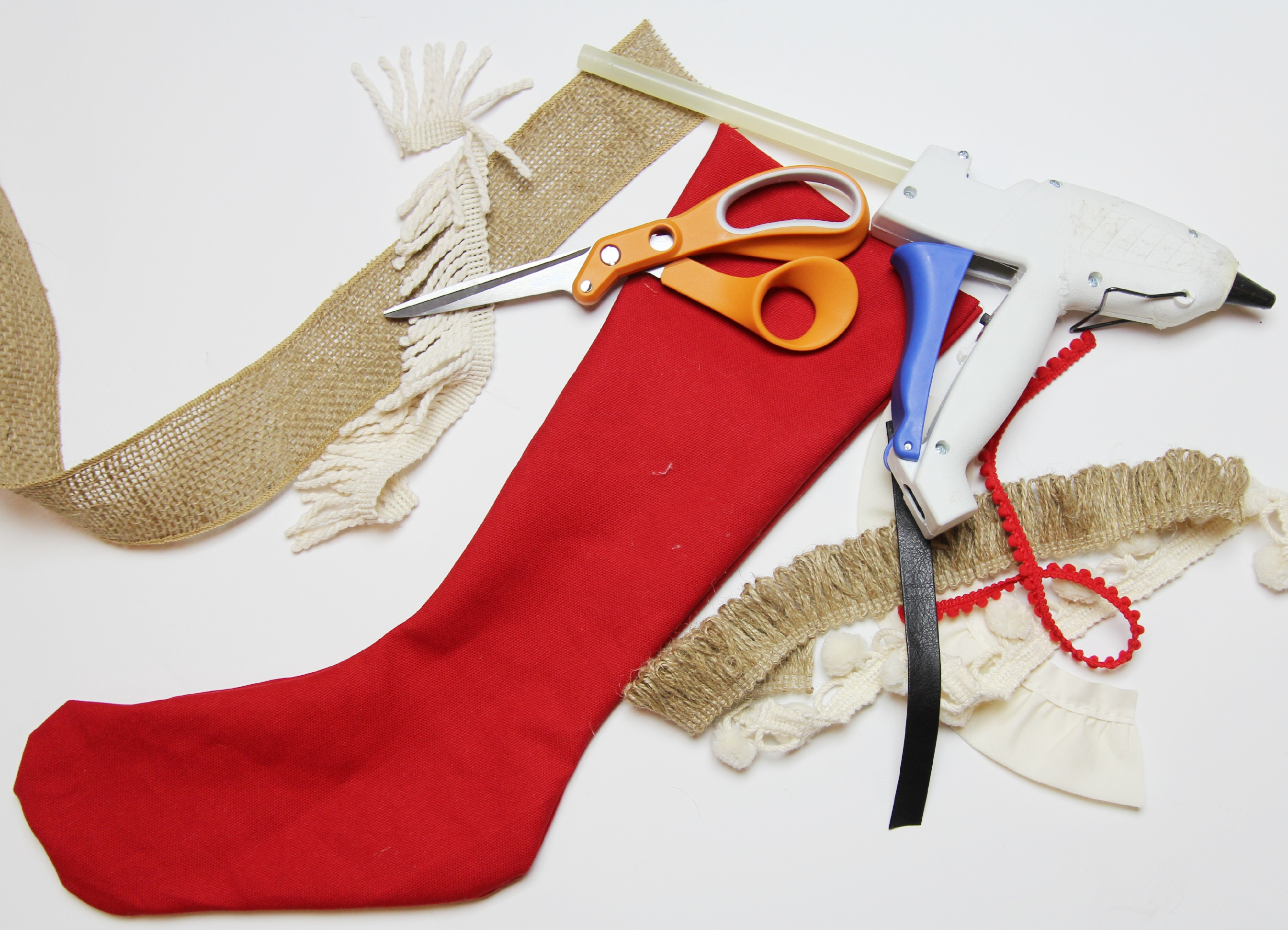 Vintage Inspired Christmas Stocking 4
