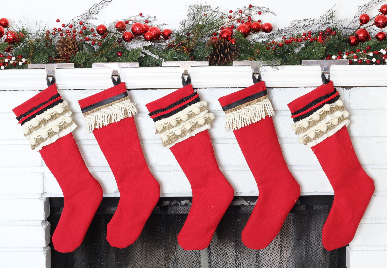 Christmas Stockings Diy.Diy Vintage Inspired Christmas Stockings