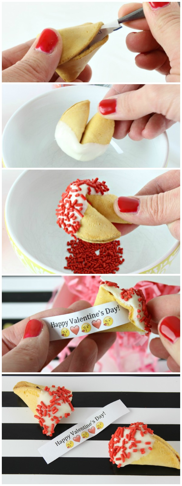 DIY Customized Fortune Cookies - Click for tutorial and tips!