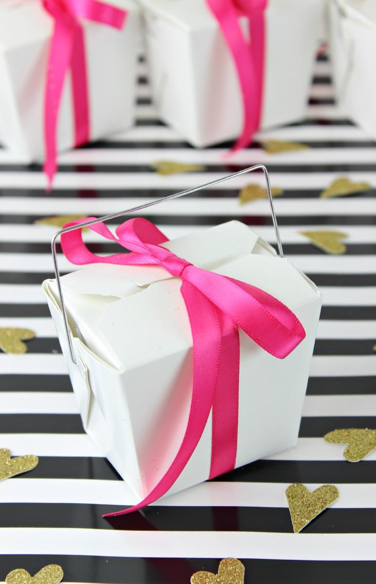 DIY Fortune Cookie Valentines - www.classyclutter.net