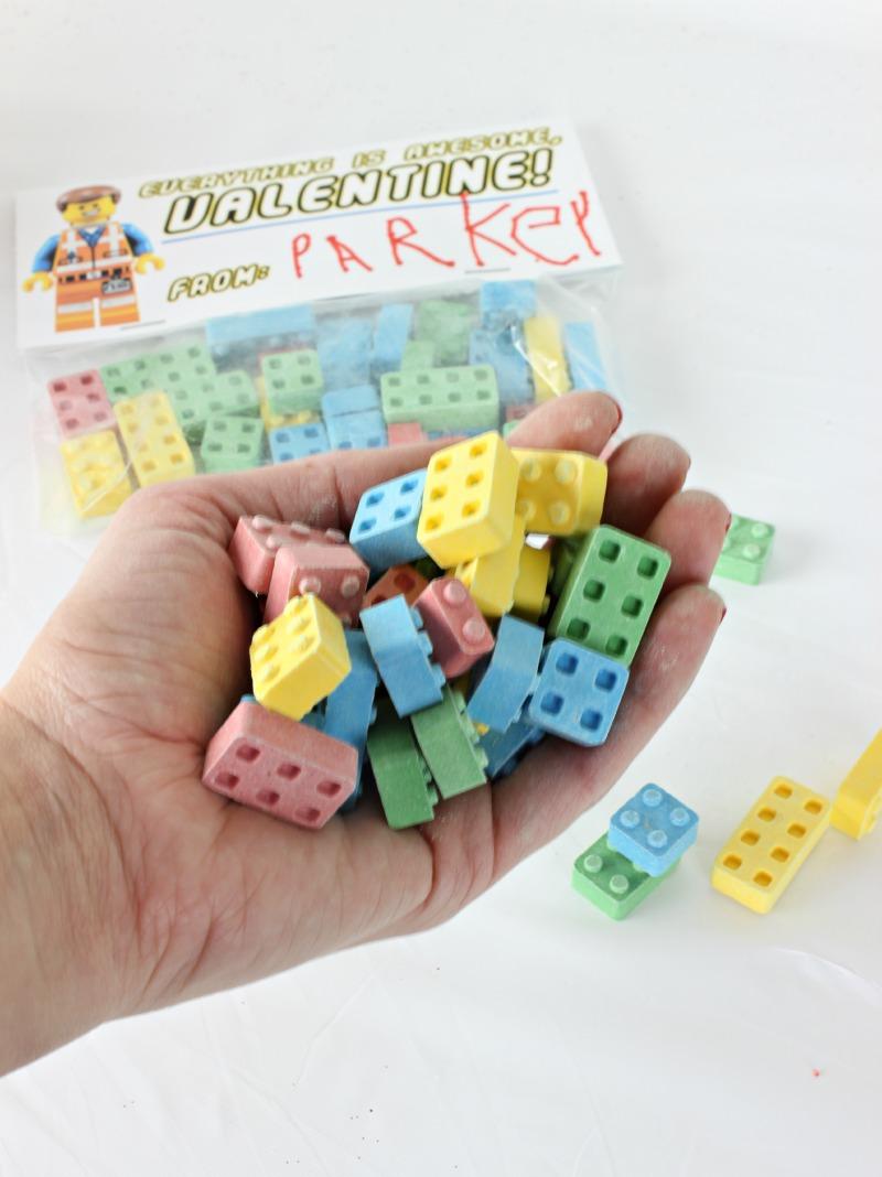 Lego Brick Candy