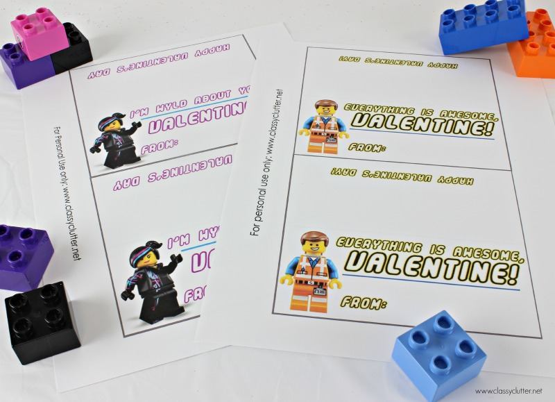 Lego Movie Printables