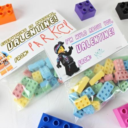 Lego Movie Valentines - www.classyclutter.net