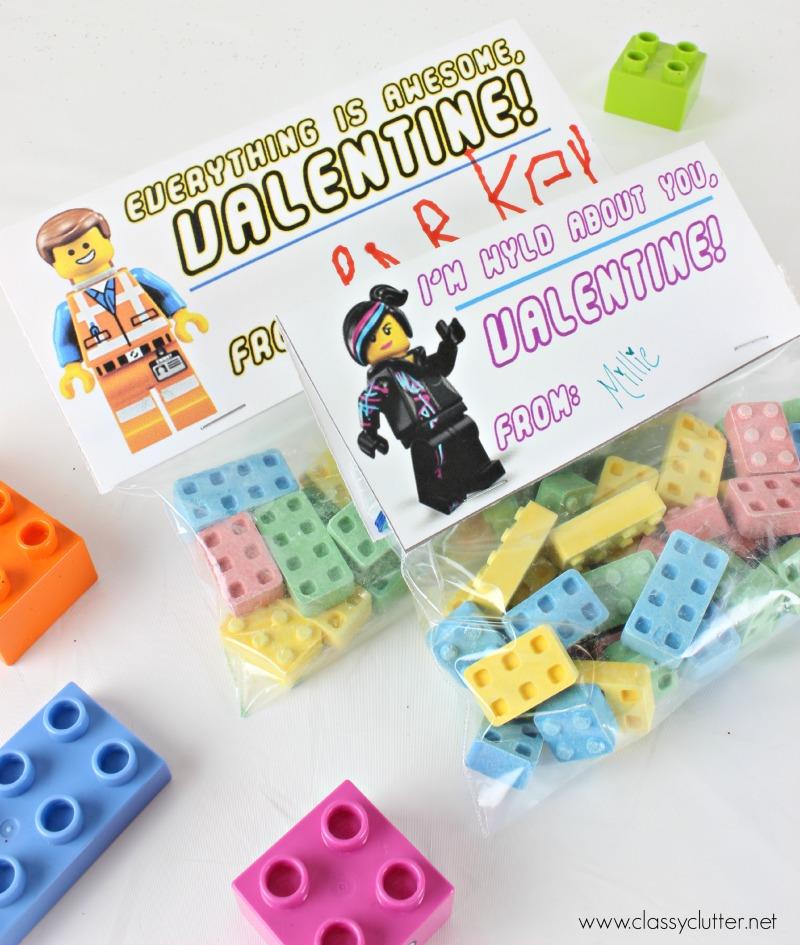 Lego Valentines - www.classyclutter.net