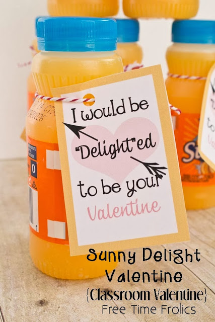 Sunny Delight Valentine So Delighted