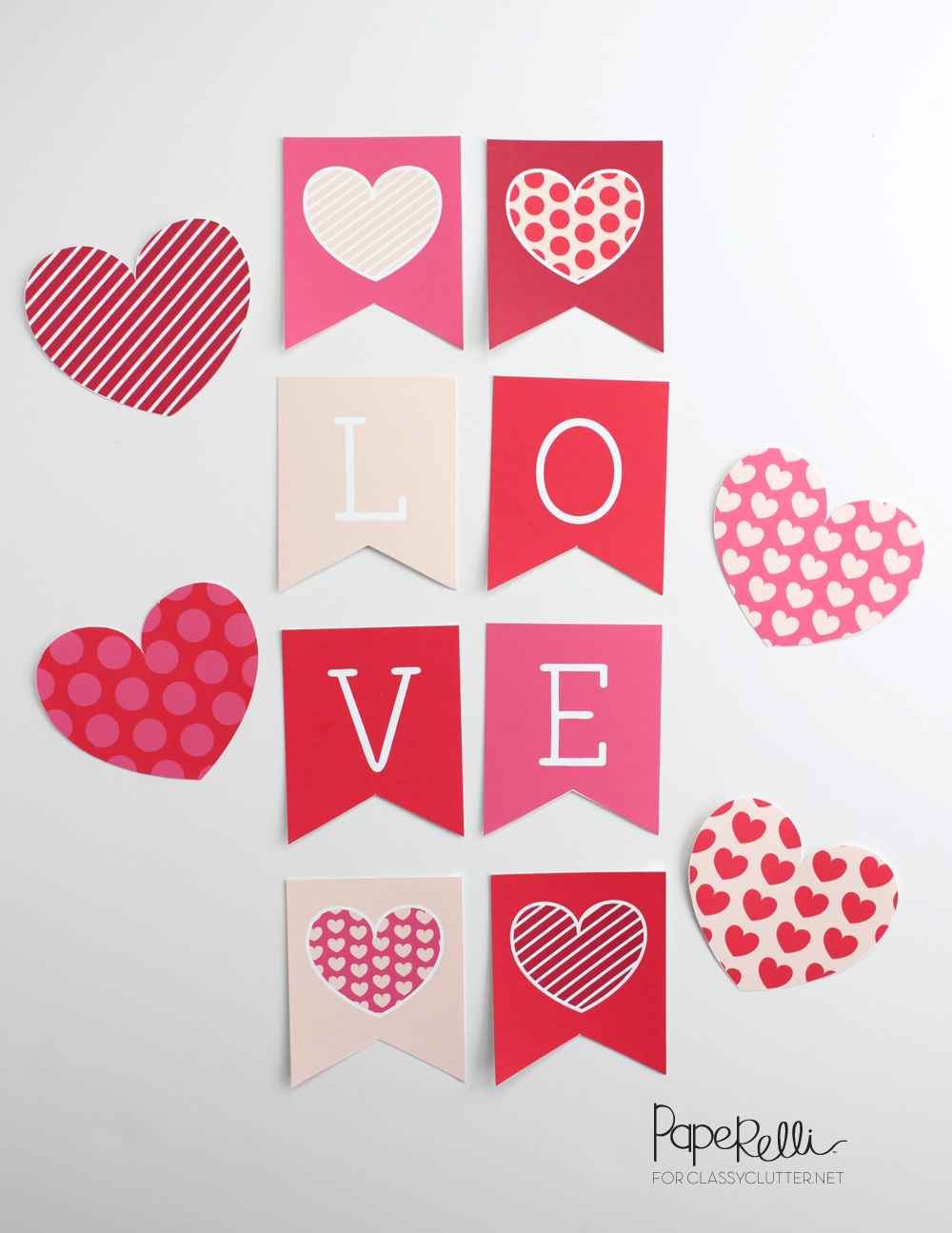 image regarding Valentine's Day Printable Decorations named Enjoyable Valentines Working day Printables - Cly Litter