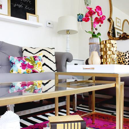 DIY Nesting Coffee Table - Ikea Hack