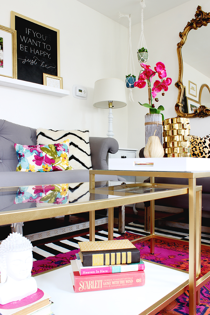 11 Fabulous Projects To Spray Paint Gold Classy Clutter