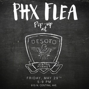 See you there from 5-9pm tonight!! See @phxflea for details!…