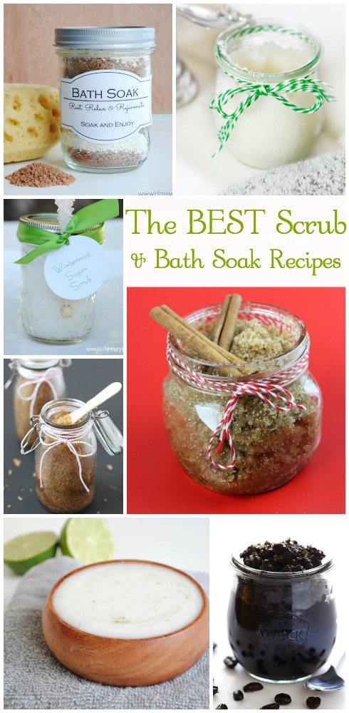 BEST Sugar Scrubs and Bath Soaks