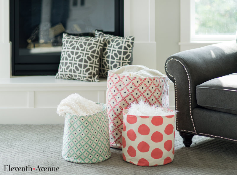 Fabric Baskets - Eleventh Avenue