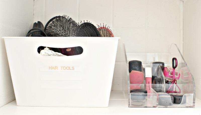 Hair tools and makeup