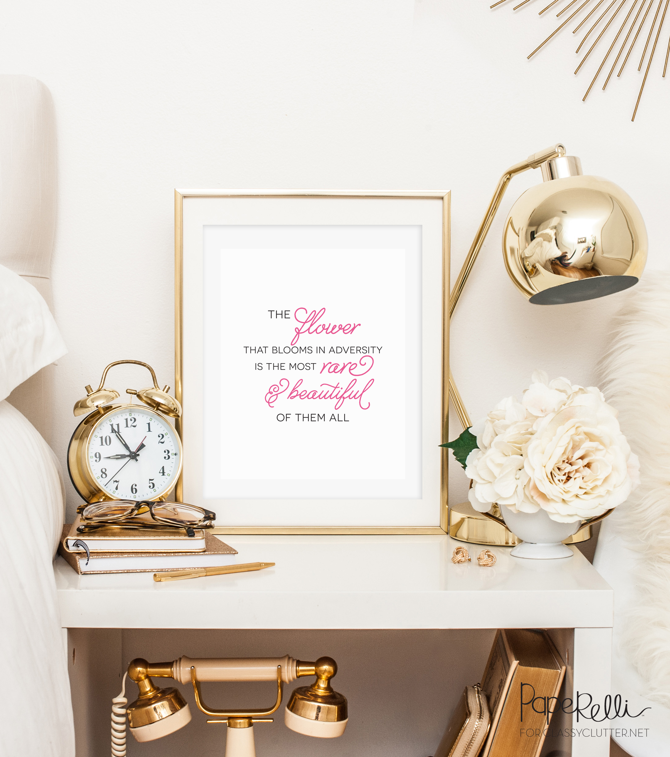 The Flower that Blooms Printable