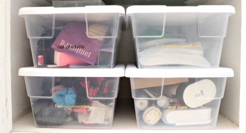Organized Bins