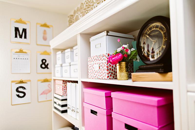 Organizing Supplies Bookshelves