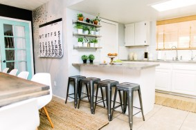 Light and Bright Kitchen and Living Room Update