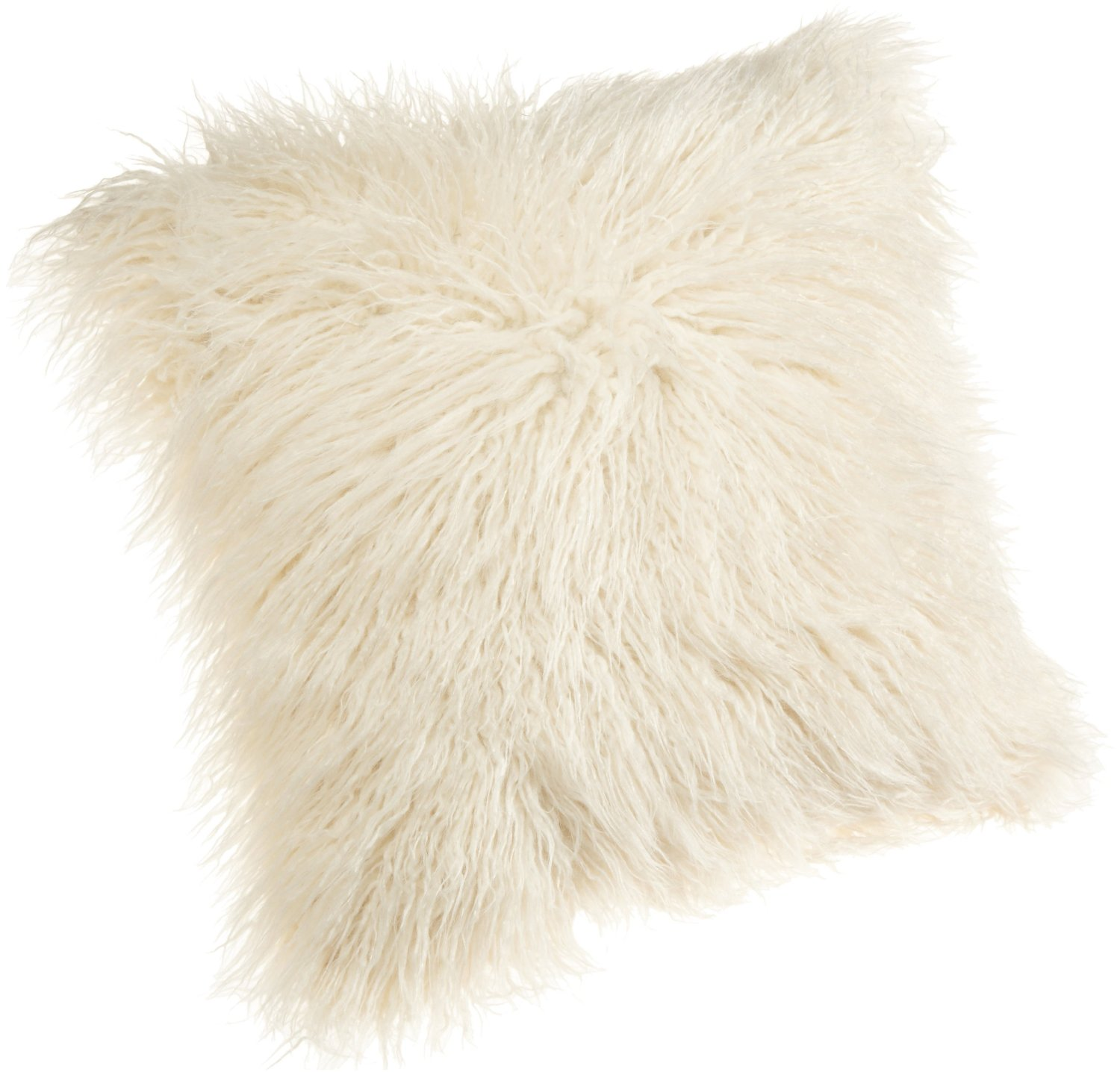 Furry Throw Pillow
