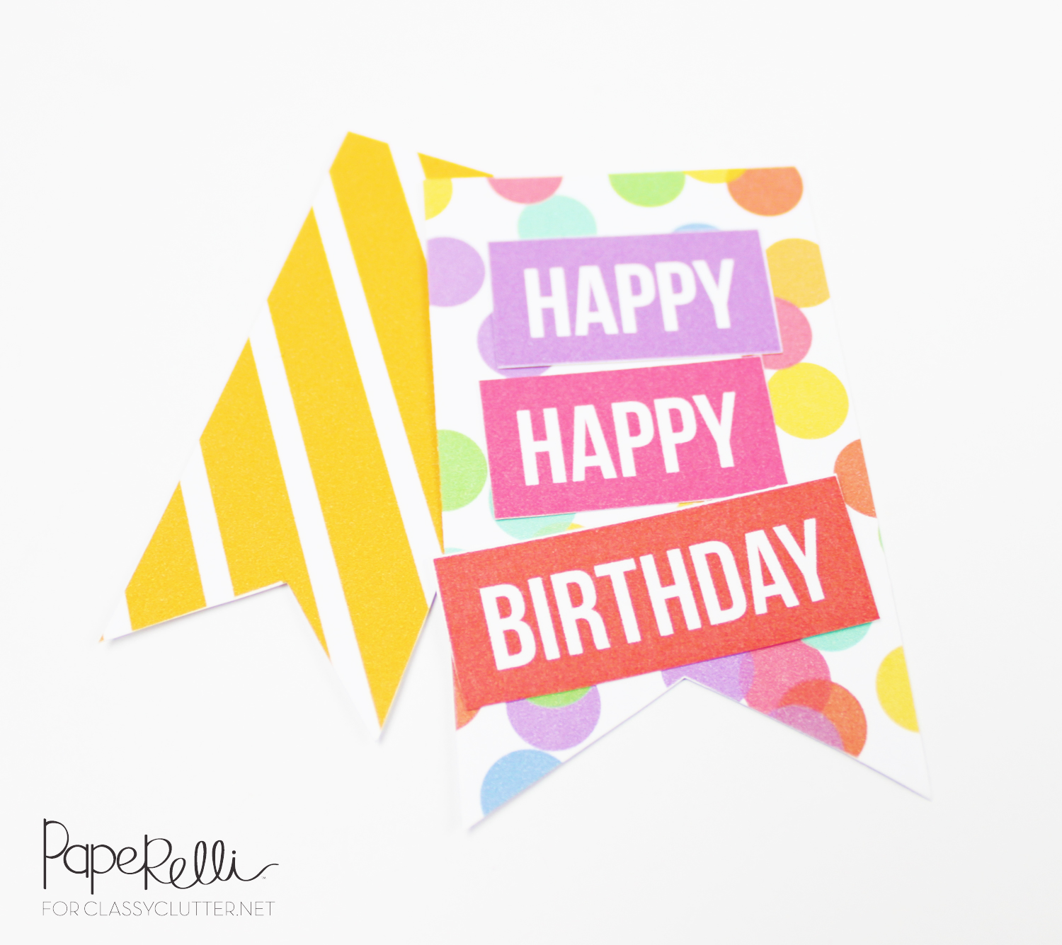 DIY Birthday Gift Tags
