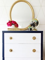 Navy and White Dresser_2