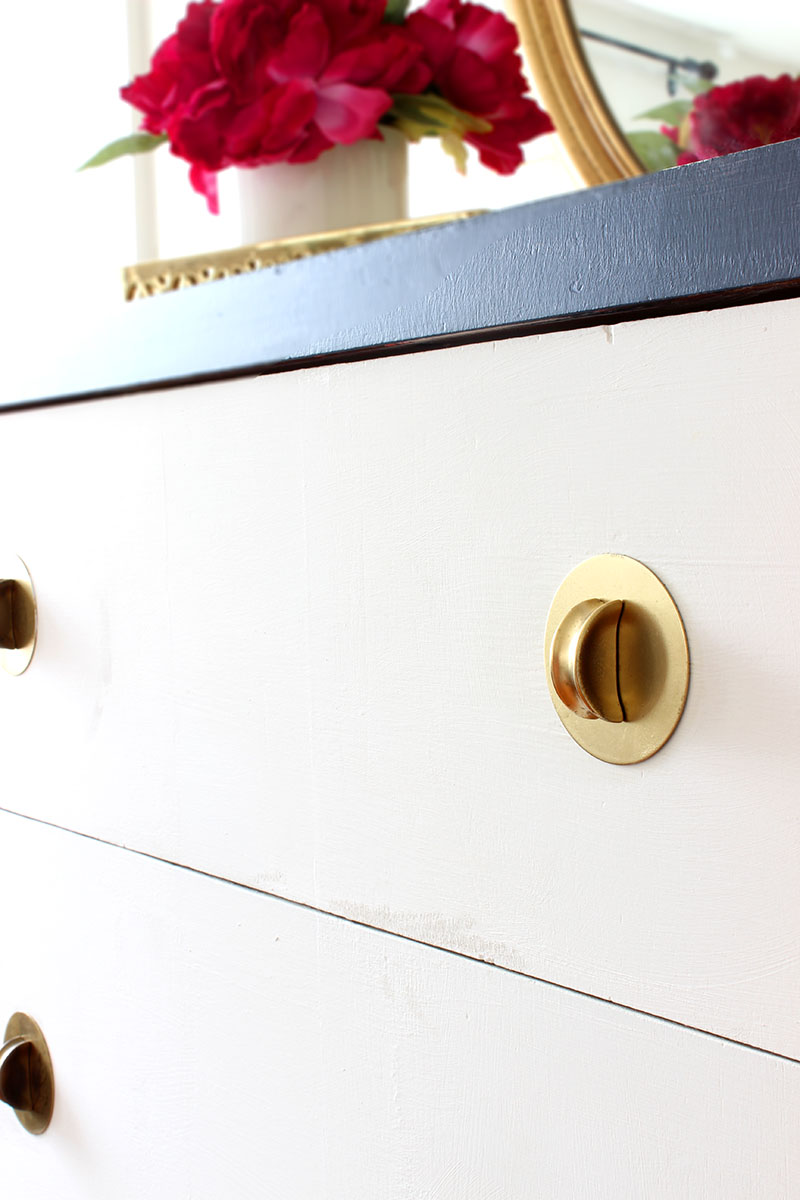 Navy and White Dresser_4