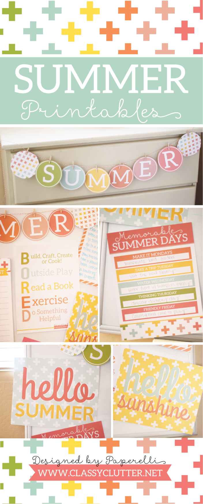 It is a picture of Satisfactory Free Summer Printables
