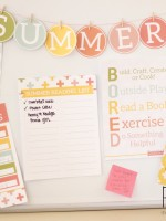 Summer Printables | designed by Paperelli for ClassyClutter.net