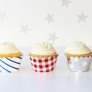 Party Ideas: Easy Cupcake Wrappers