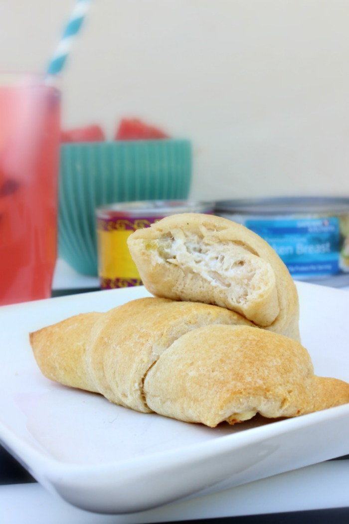 Green Chili Chicken Pockets - Click for recipe