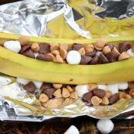 Camping Food Ideas: Campfire Banana Boats