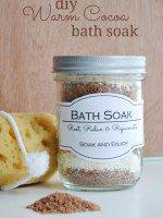 DIY Warm Cocoa Bath Soak
