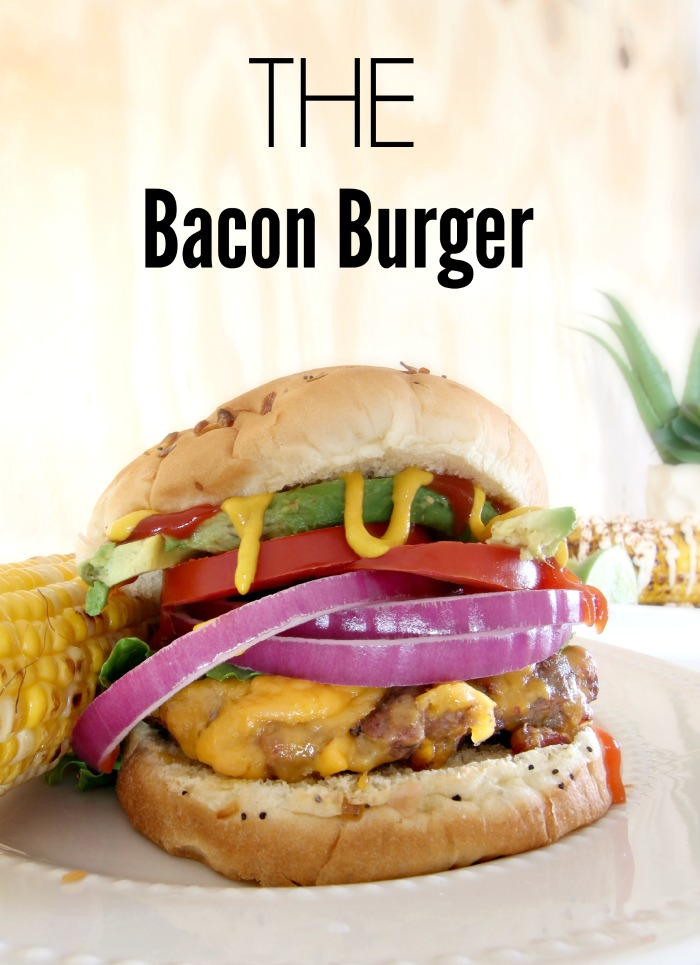 THE Bacon Cheeseburger