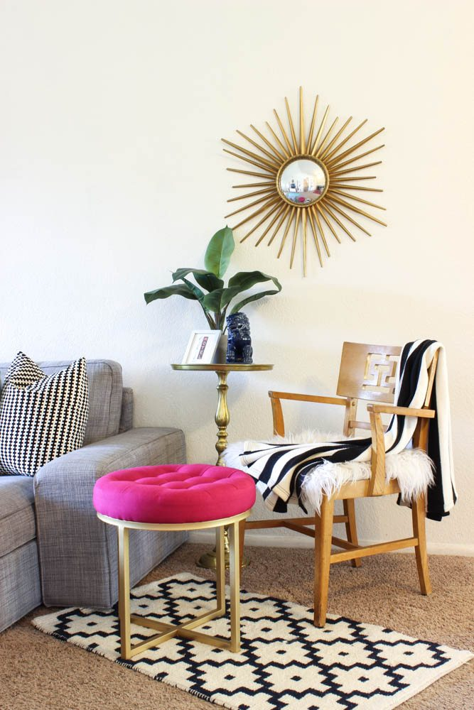 Colorful Living Room Reveal-24