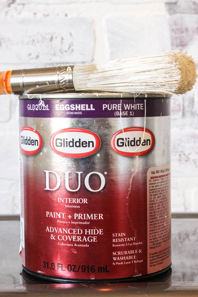 paint to use on faux brick wall