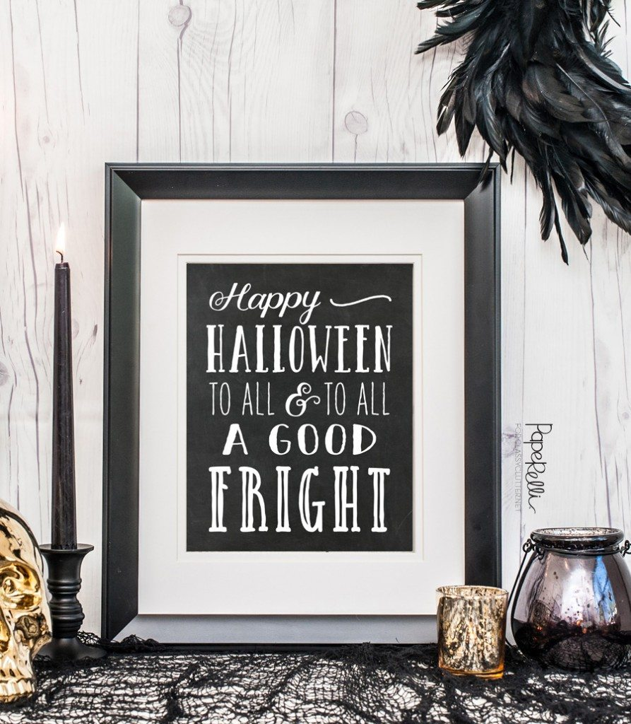 Halloween Printable by Paperelli @ClassyClutter