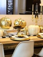 Halloween Pumpkins + Tablescape-22