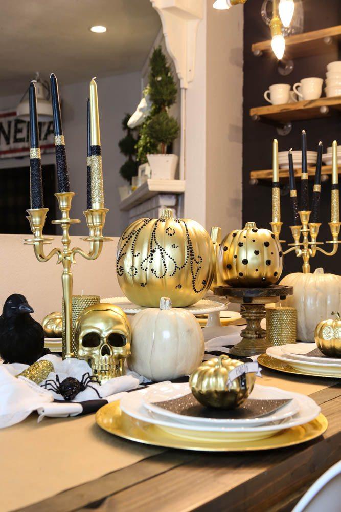 Halloween Pumpkins + Tablescape-6