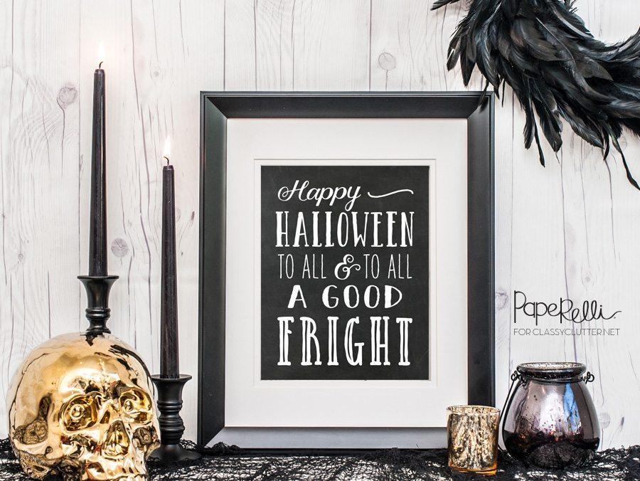 Free Halloween Art Print