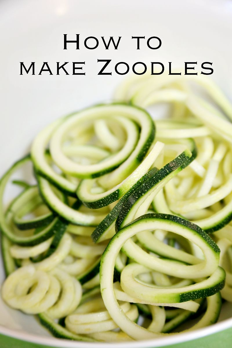 Healthy Recipes Zoodles With A Healthy Turkey Meat Sauce