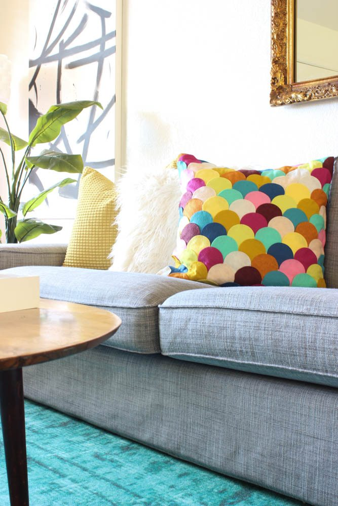 Colorful Living Room Reveal-16