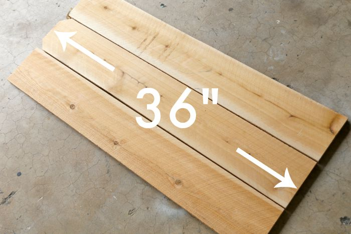 Cut fence pickets