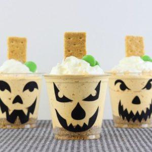 Jack-o-lantern-No-Bake-Cheesecake